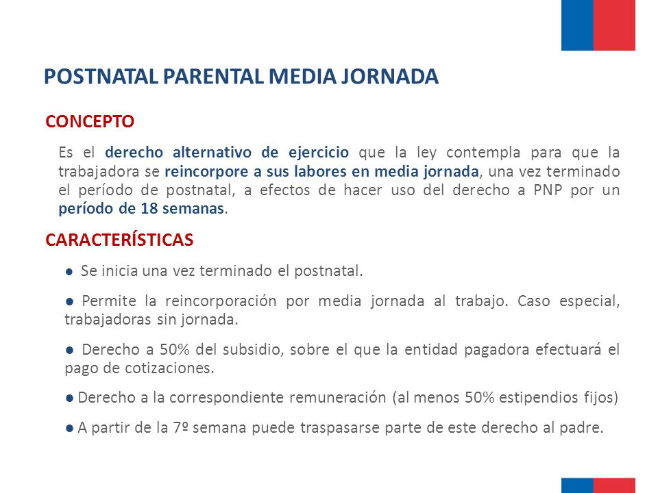 POSTNATAL PARENTAL MEDIA JORNADA