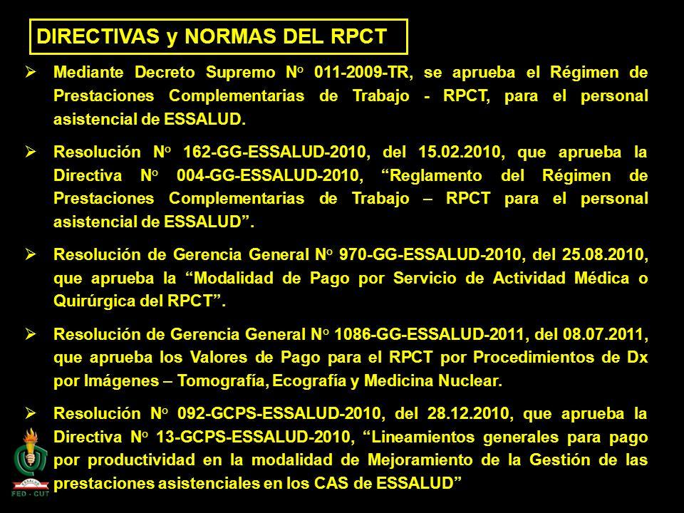 DIRECTIVAS y NORMAS DEL RPCT