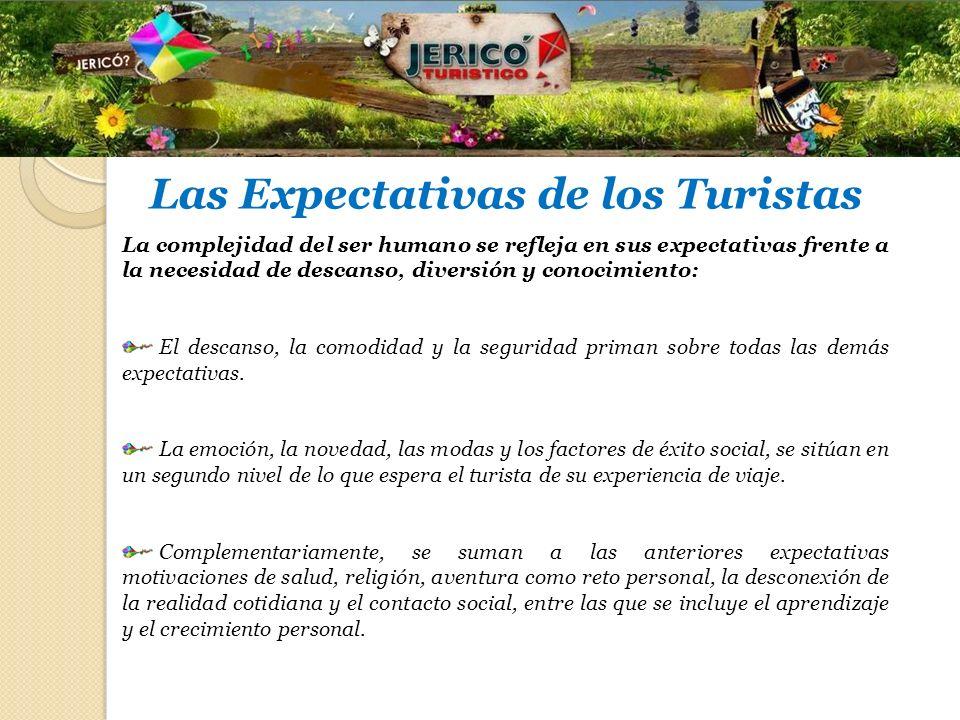 Las Expectativas de los Turistas