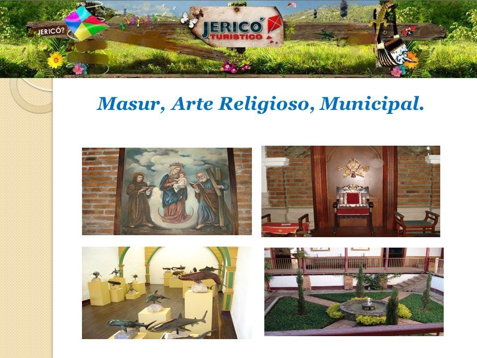 Masur, Arte Religioso, Municipal.