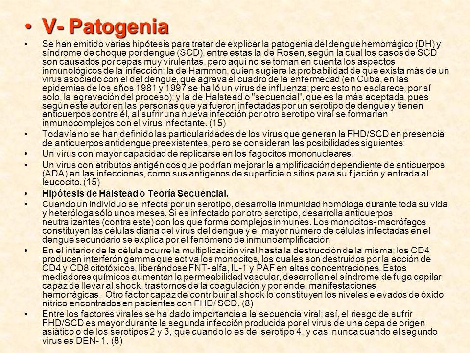 V- Patogenia