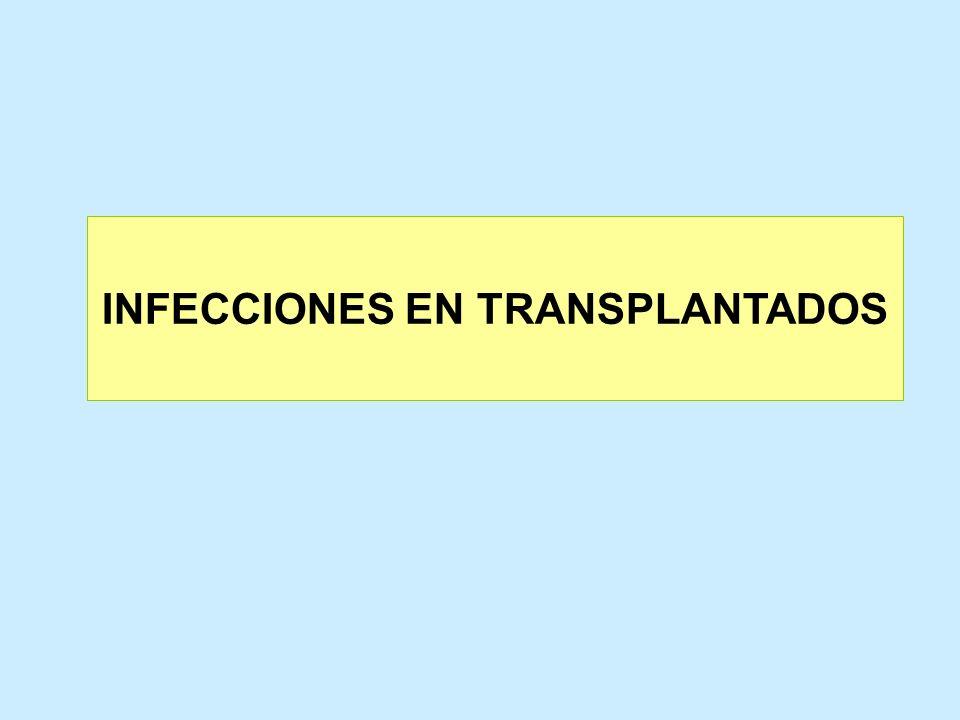 INFECCIONES EN TRANSPLANTADOS