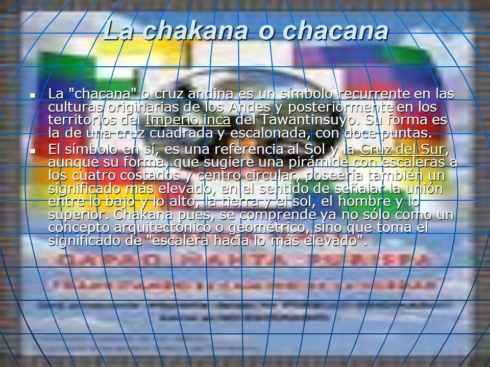La chakana o chacana