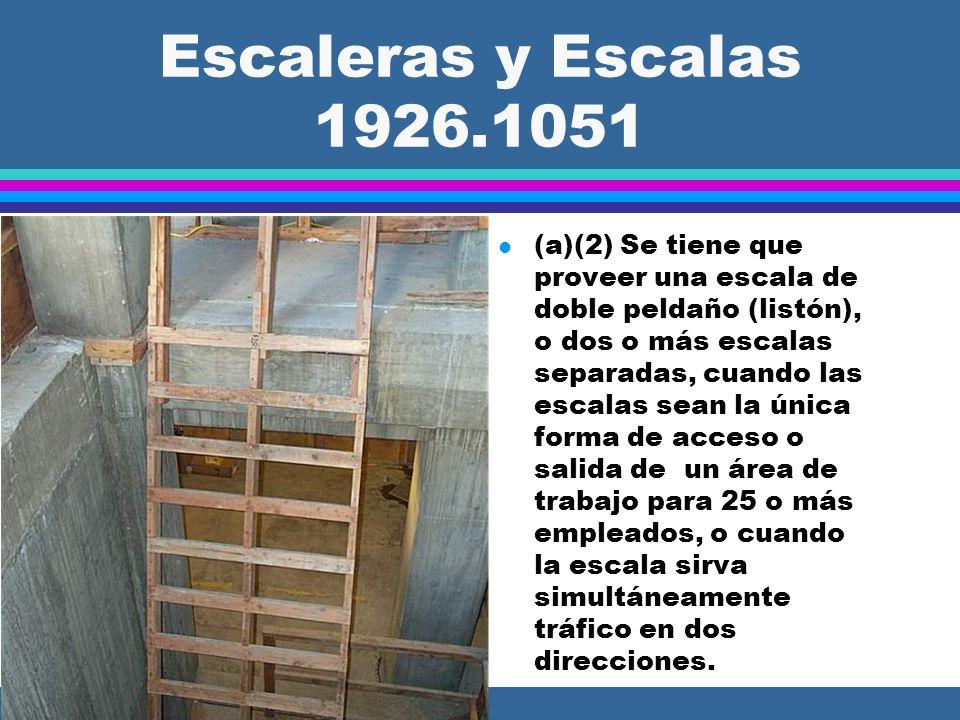 Escaleras y Escalas 1926.1051