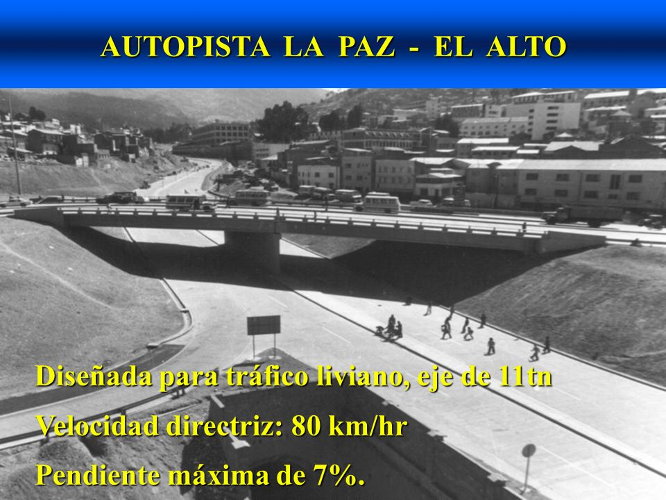 AUTOPISTA LA PAZ - EL ALTO