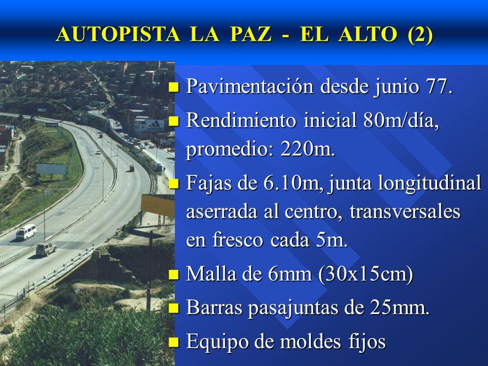 AUTOPISTA LA PAZ - EL ALTO (2)