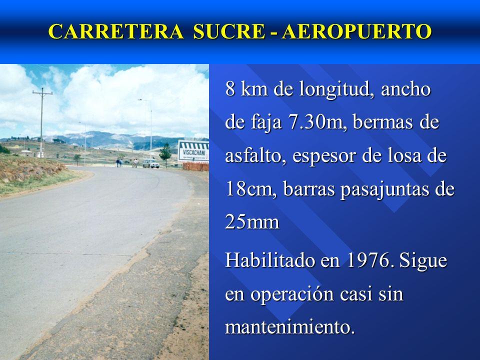 CARRETERA SUCRE - AEROPUERTO