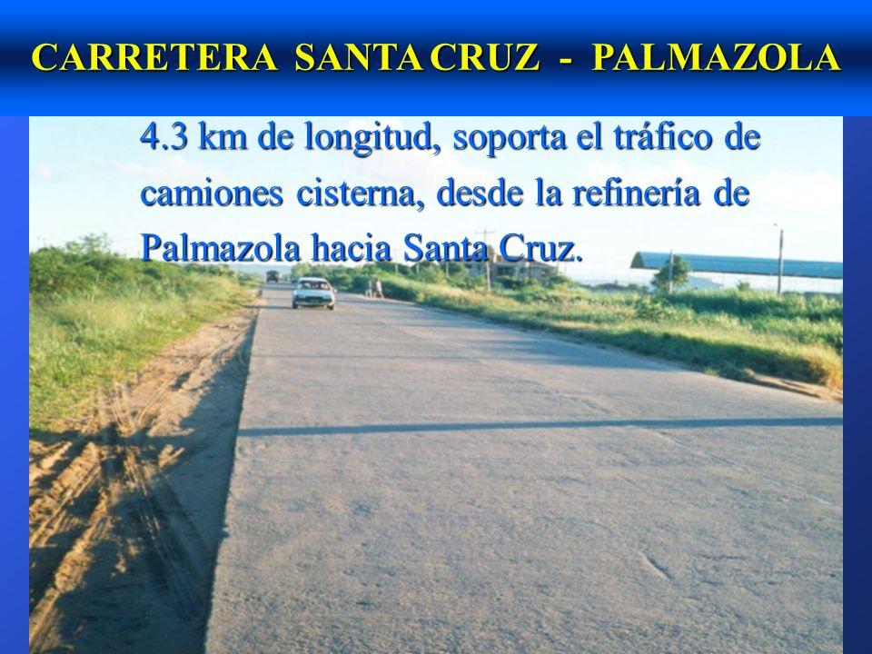 CARRETERA SANTA CRUZ - PALMAZOLA