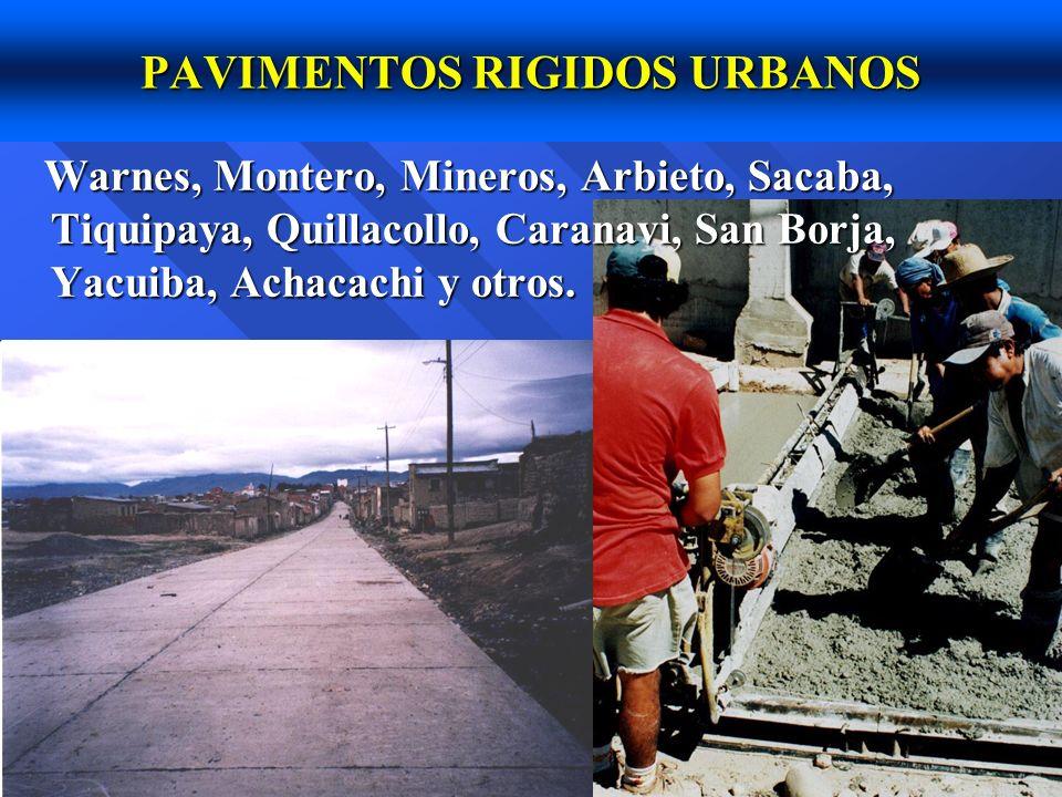 PAVIMENTOS RIGIDOS URBANOS
