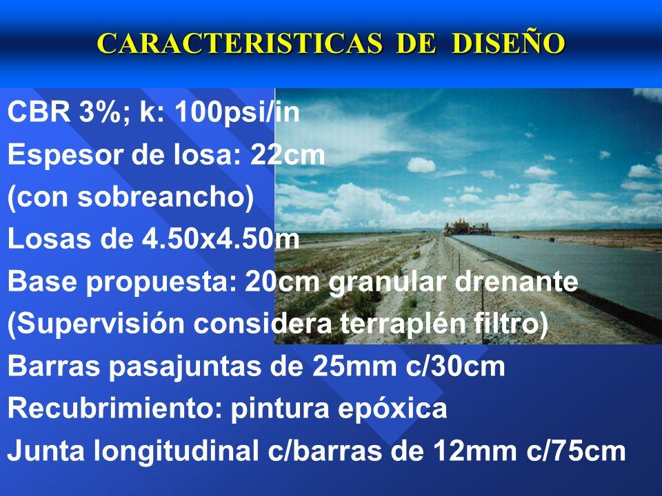 CARACTERISTICAS DE DISEÑO