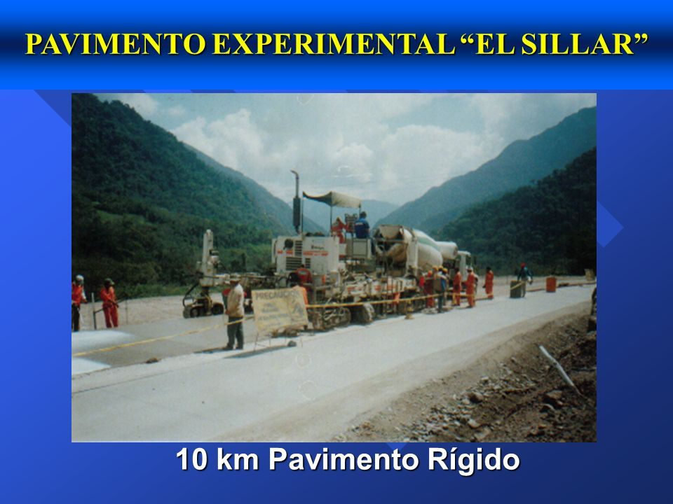 PAVIMENTO EXPERIMENTAL EL SILLAR