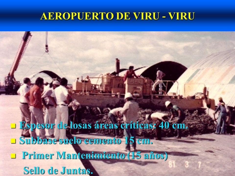 AEROPUERTO DE VIRU - VIRU