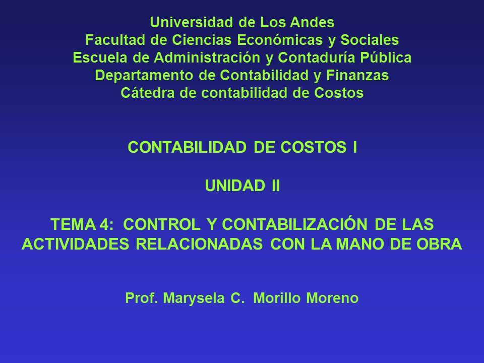 CONTABILIDAD DE COSTOS I UNIDAD II