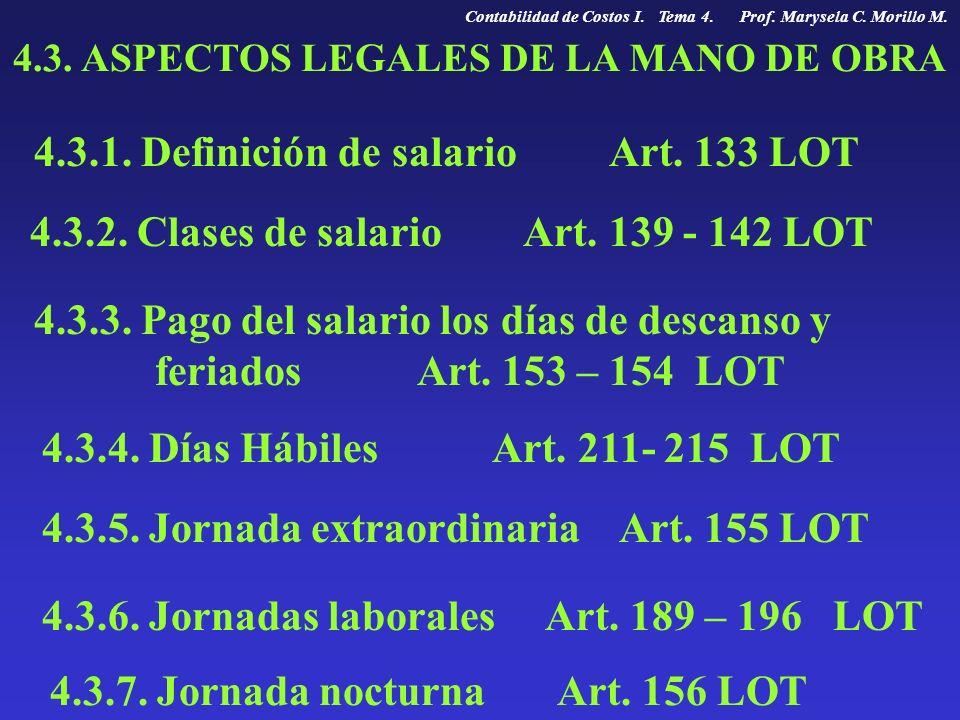 4.3. ASPECTOS LEGALES DE LA MANO DE OBRA