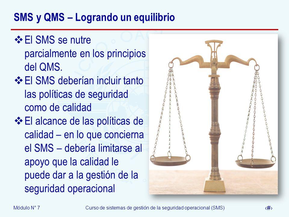 SMS y QMS – Logrando un equilibrio