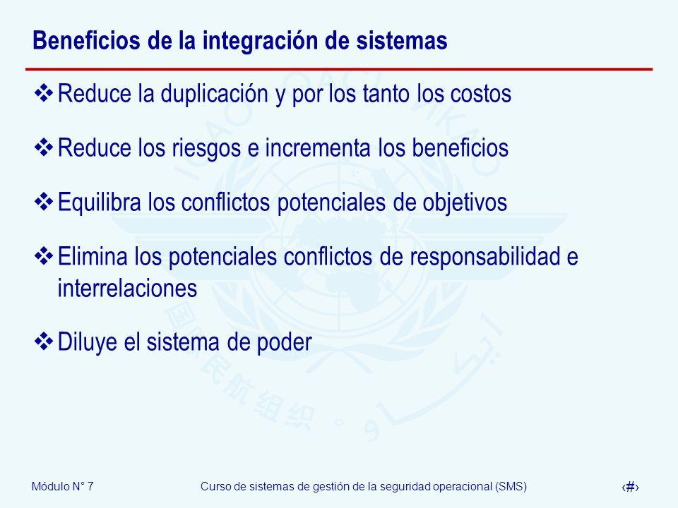 Beneficios de la integración de sistemas