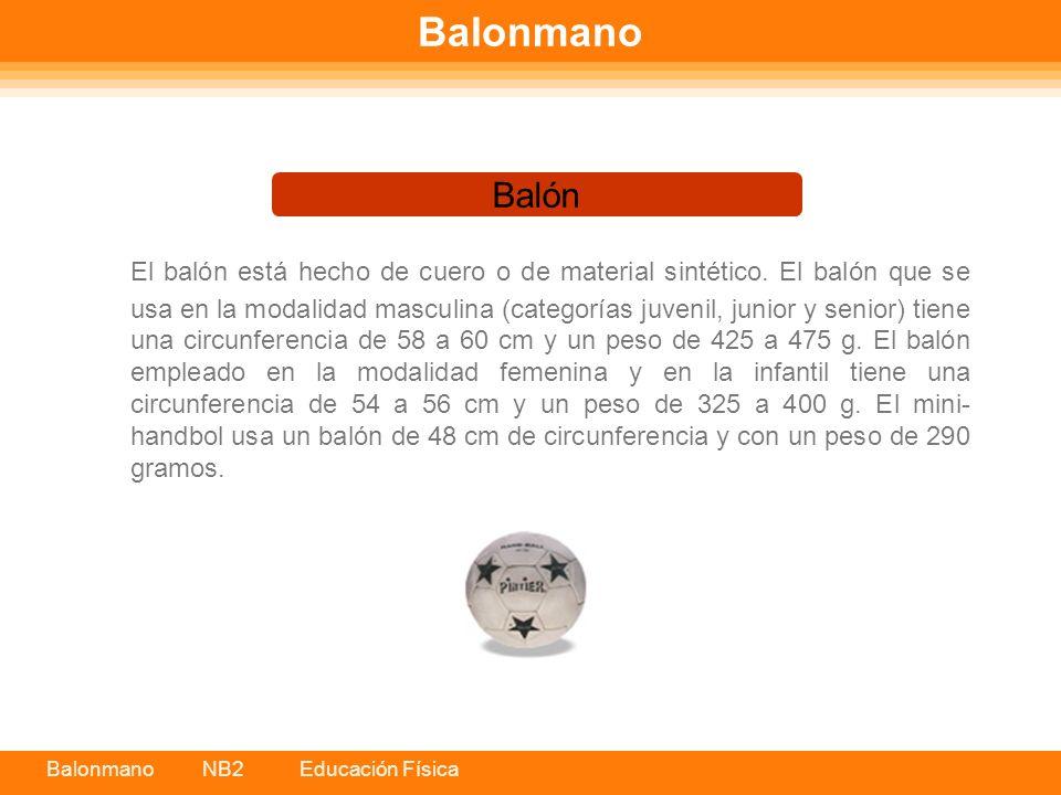 Balonmano Balón.
