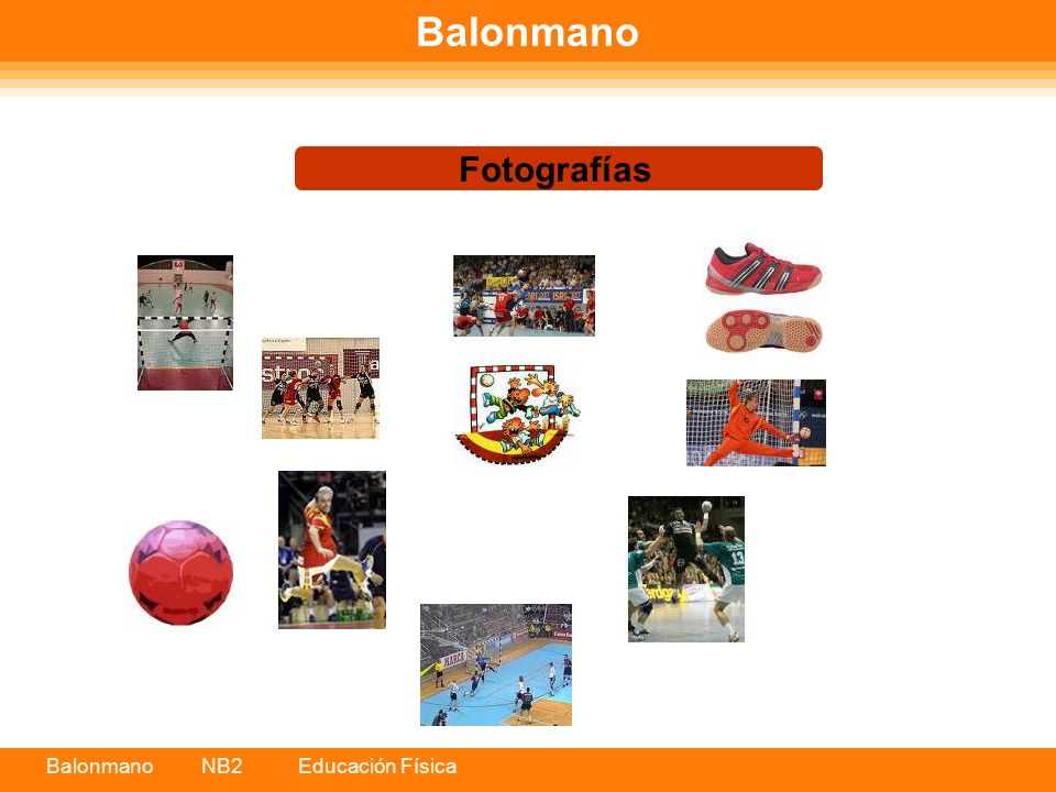 Balonmano Fotografías