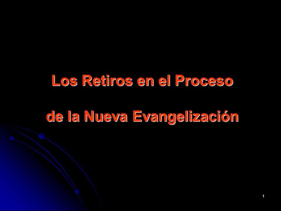 Los Retiros en el Proceso de la Nueva Evangelización