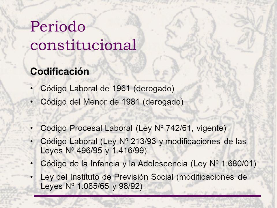 Periodo constitucional