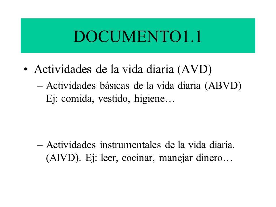 DOCUMENTO1.1 Actividades de la vida diaria (AVD)