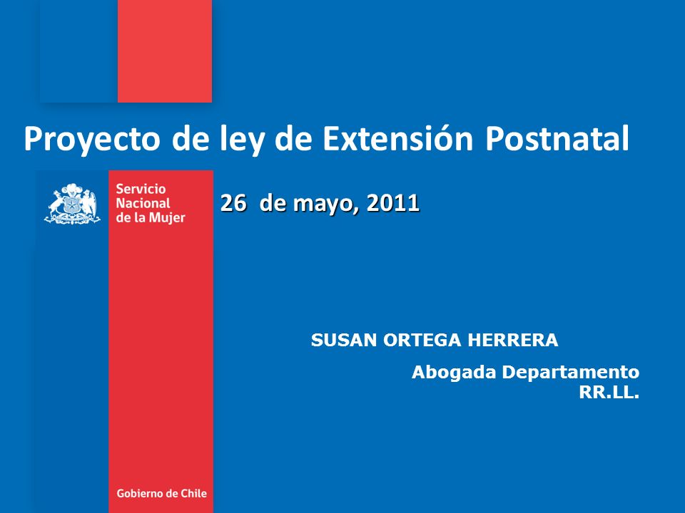 Proyecto de ley de Extensión Postnatal