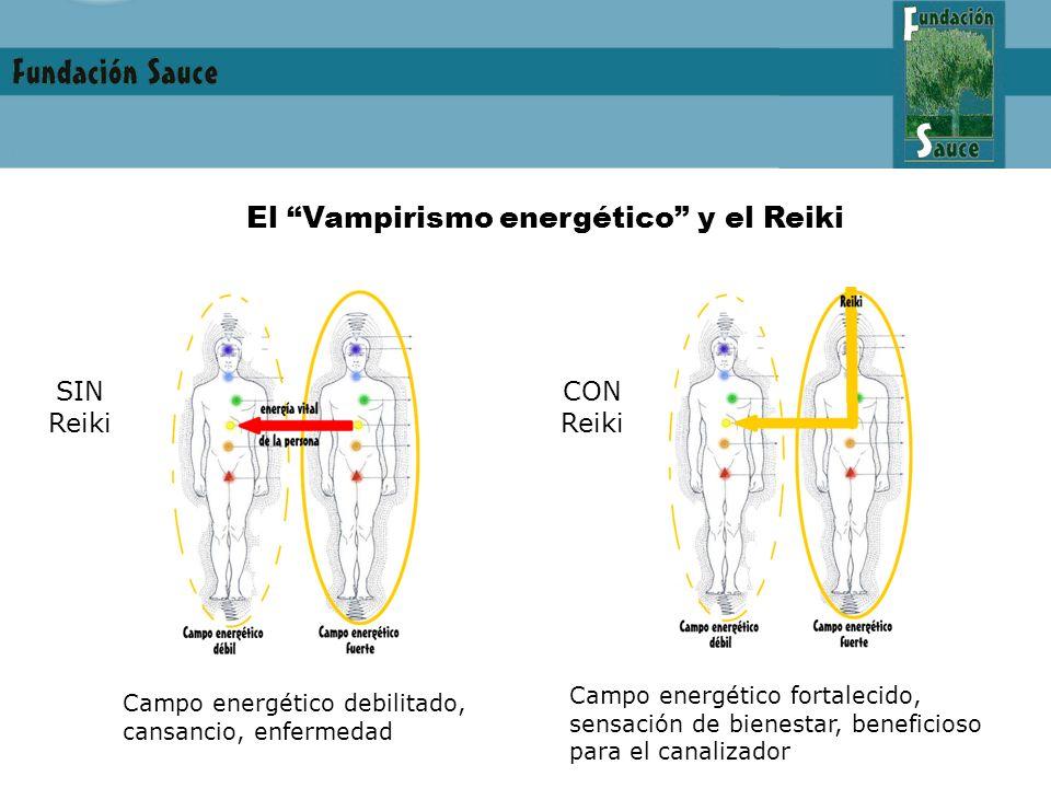 El Vampirismo energético y el Reiki