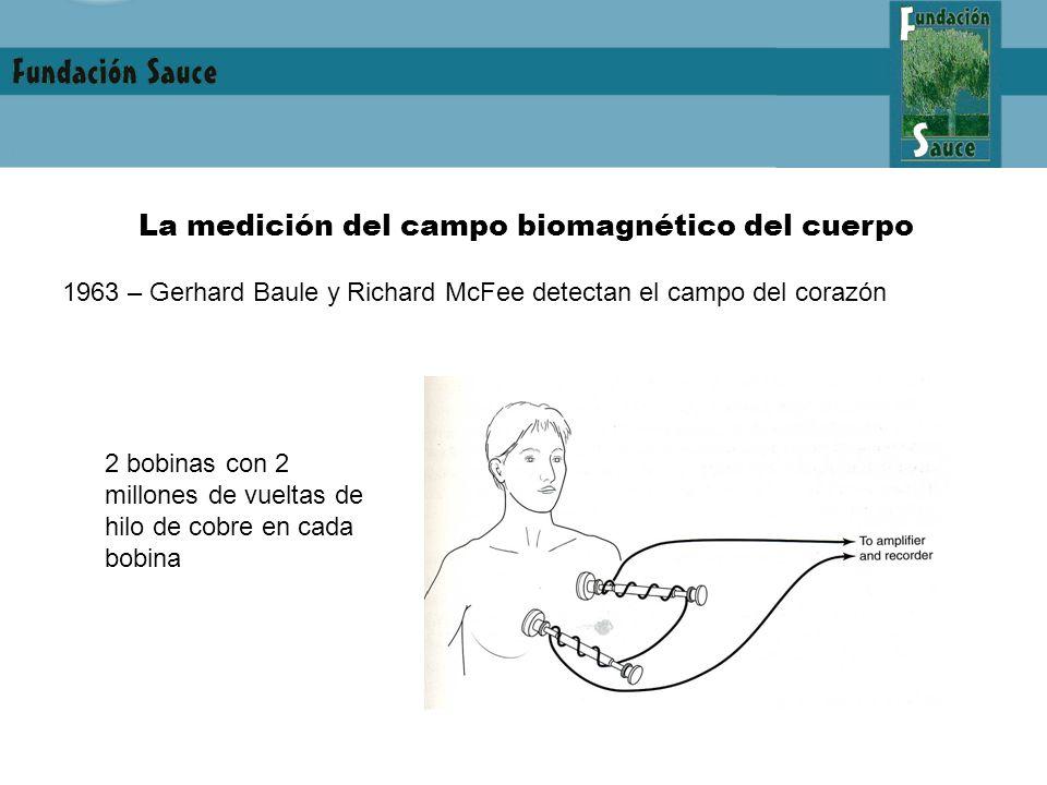 La medición del campo biomagnético del cuerpo