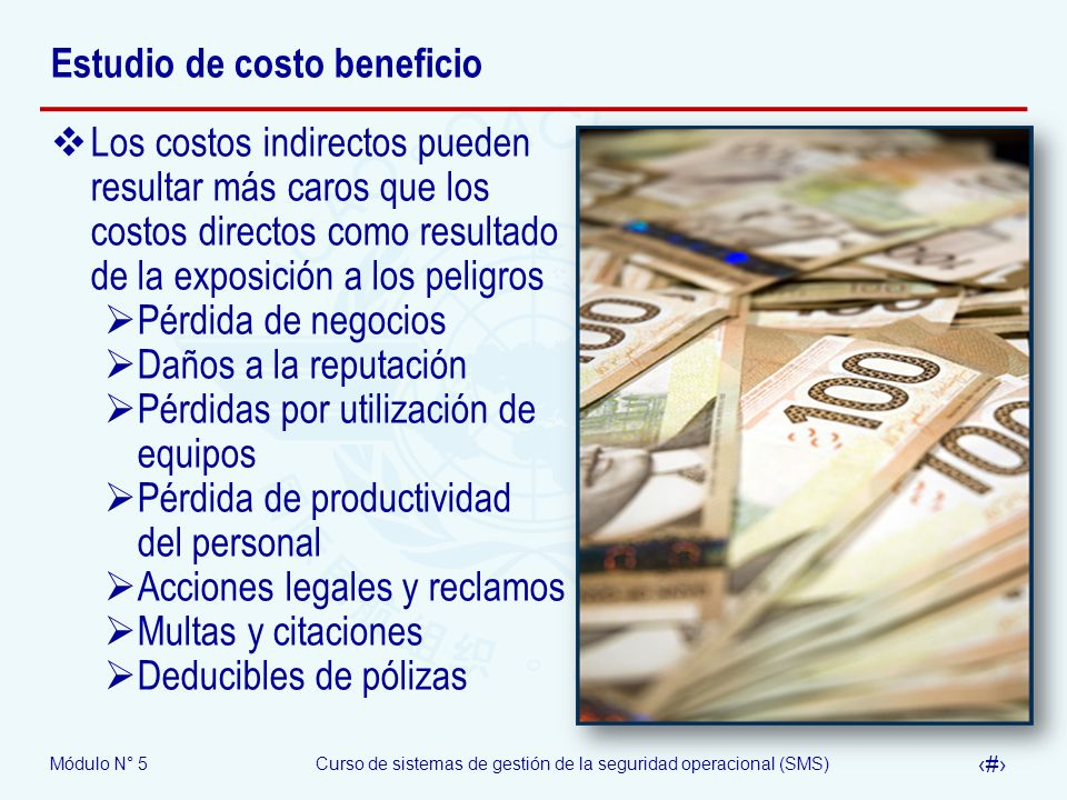 Estudio de costo beneficio