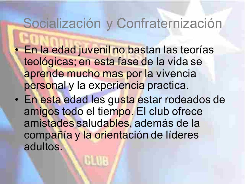 Socialización y Confraternización