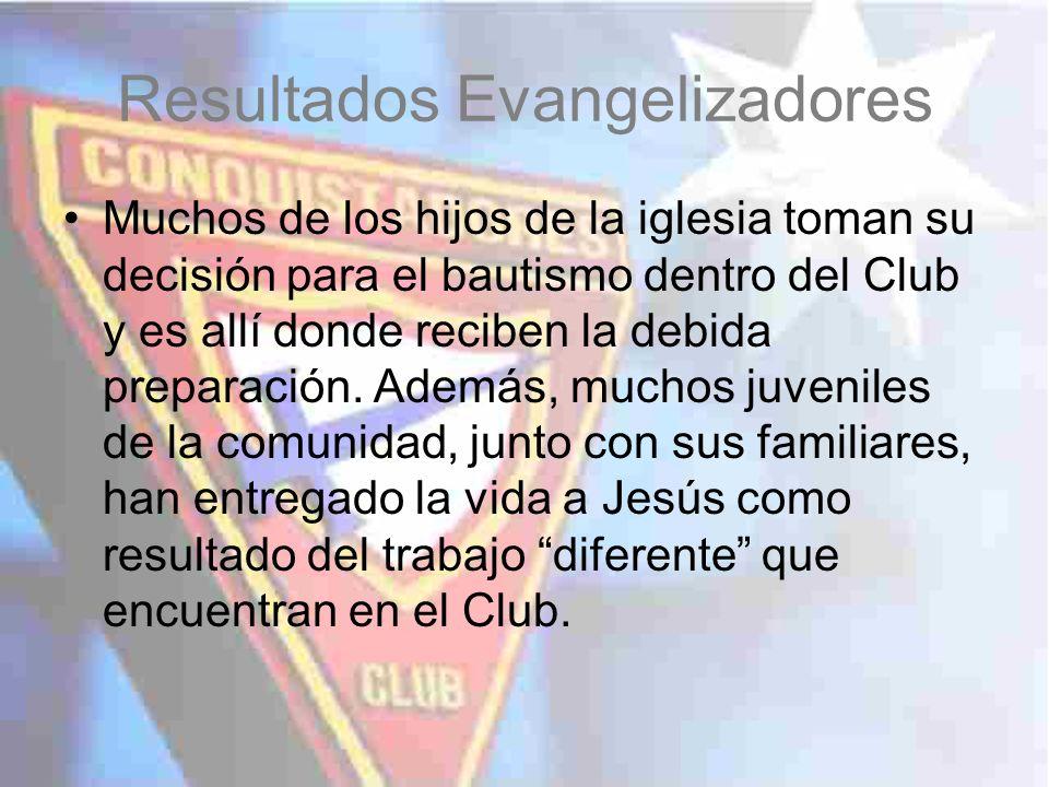 Resultados Evangelizadores