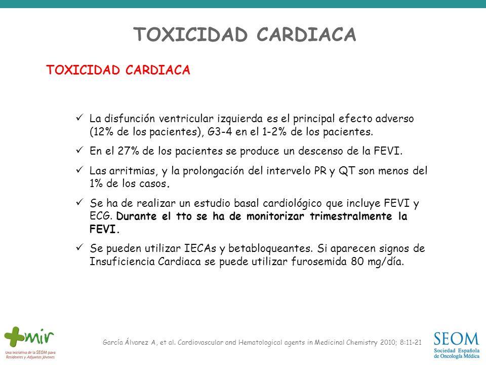 TOXICIDAD CARDIACA TOXICIDAD CARDIACA