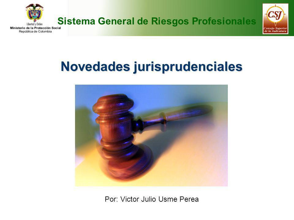 Novedades jurisprudenciales