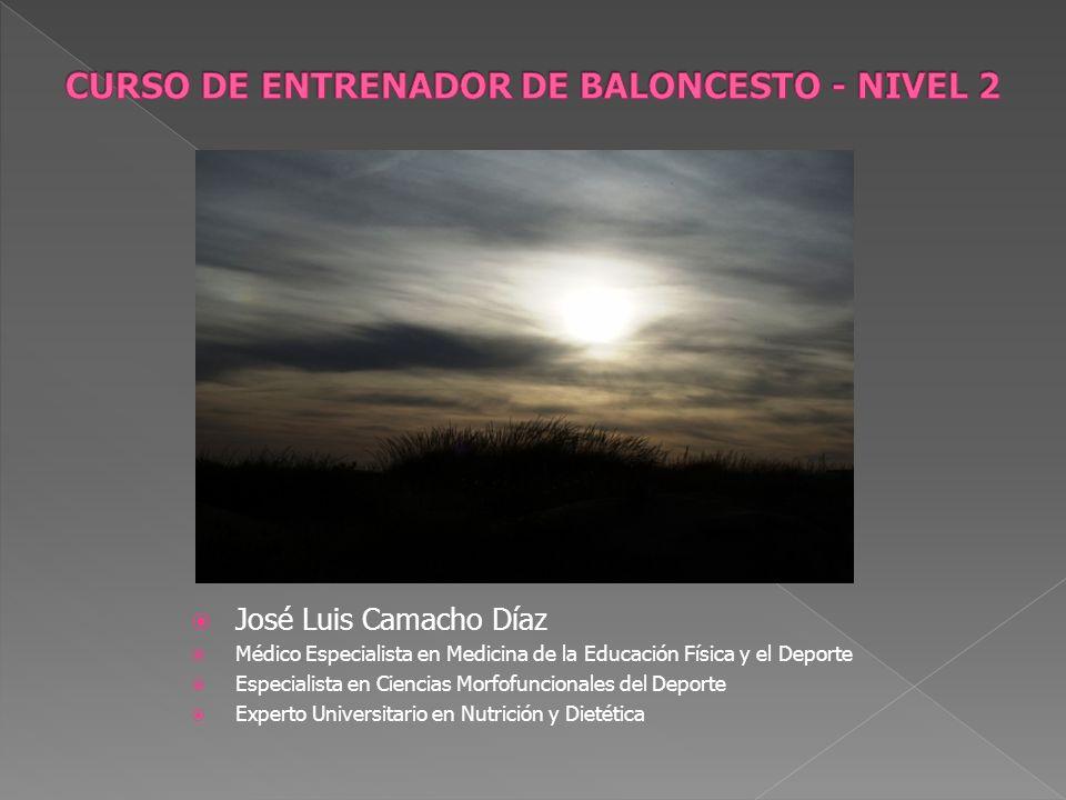 CURSO DE ENTRENADOR DE BALONCESTO - NIVEL 2
