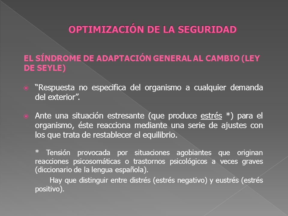 OPTIMIZACIÓN DE LA SEGURIDAD