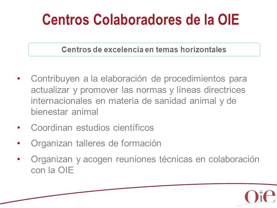 Centros Colaboradores de la OIE