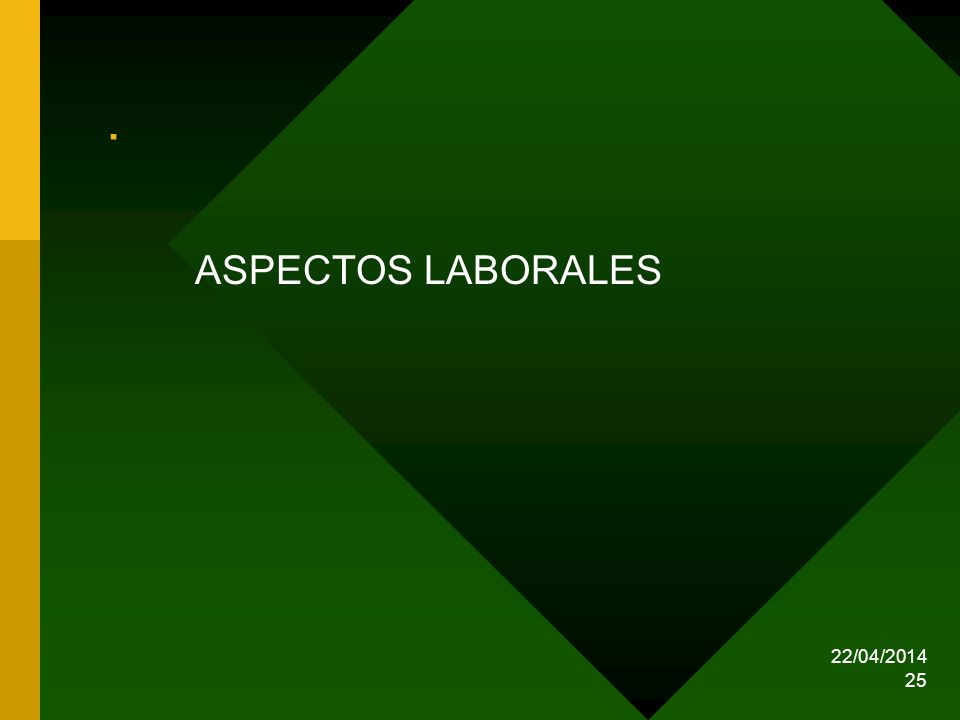 . ASPECTOS LABORALES 29/03/2017