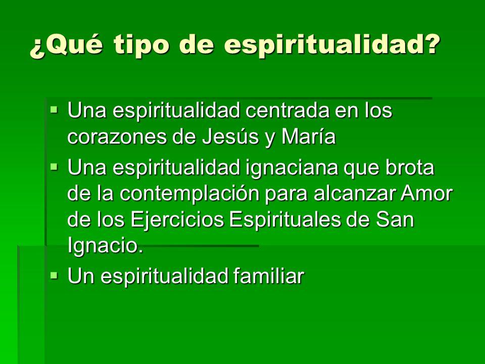 ¿Qué tipo de espiritualidad