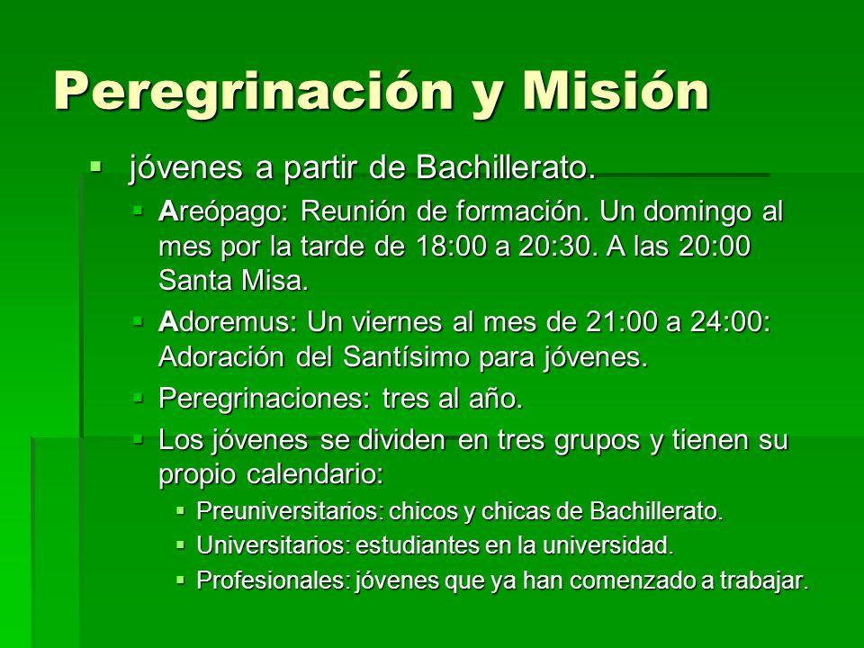 Peregrinación y Misión