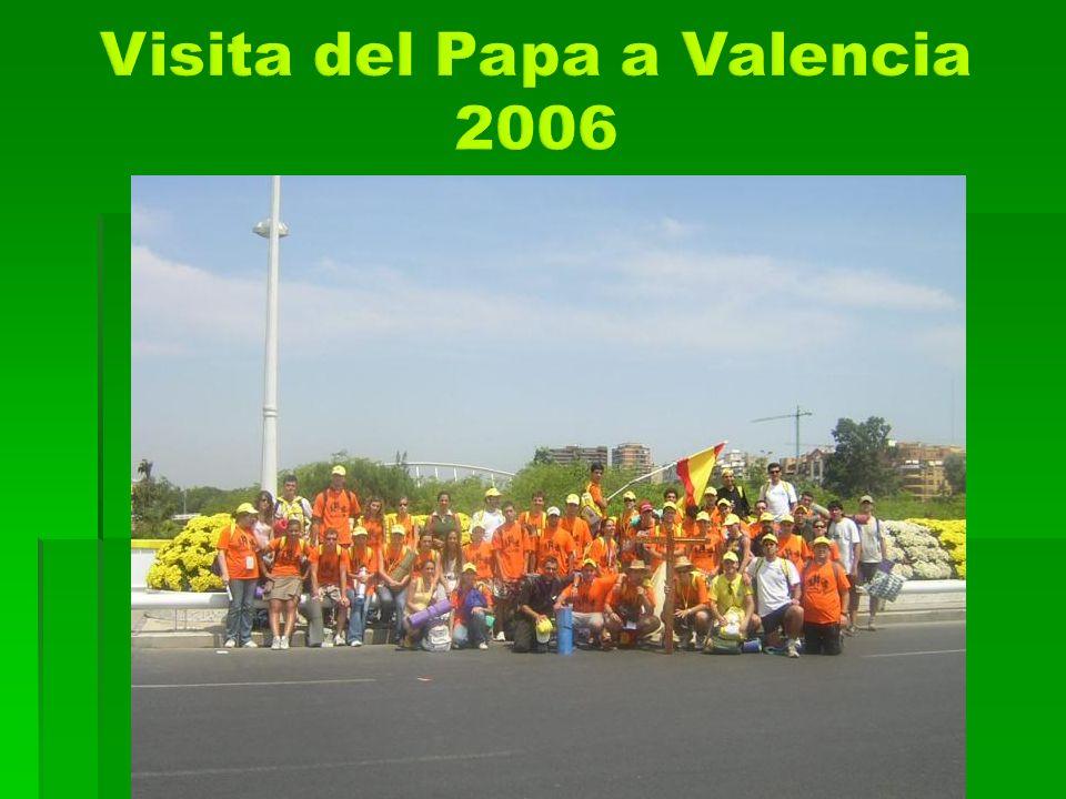 Visita del Papa a Valencia 2006