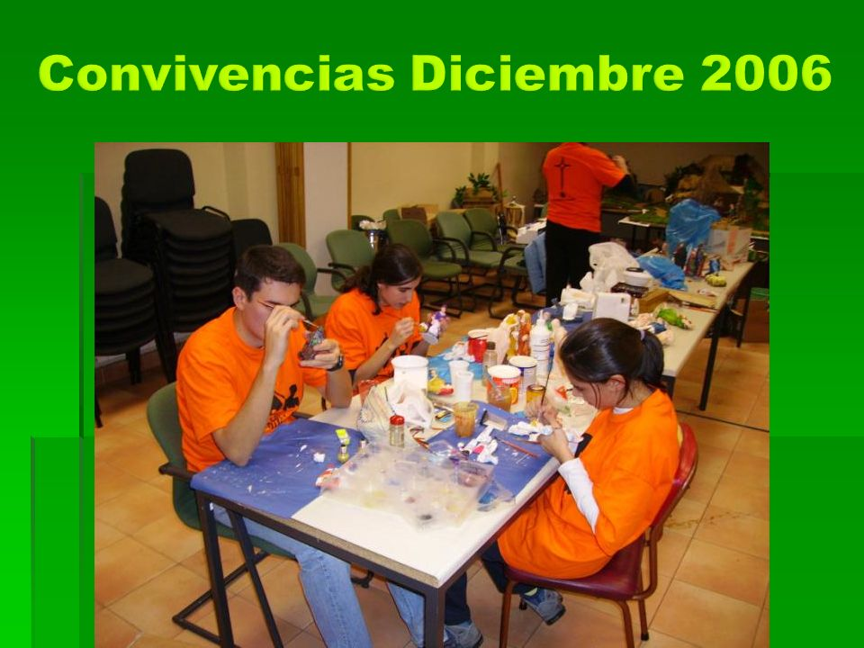 Convivencias Diciembre 2006