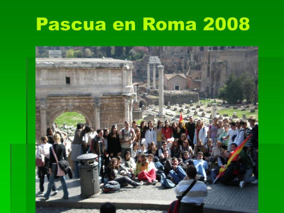 Pascua en Roma 2008