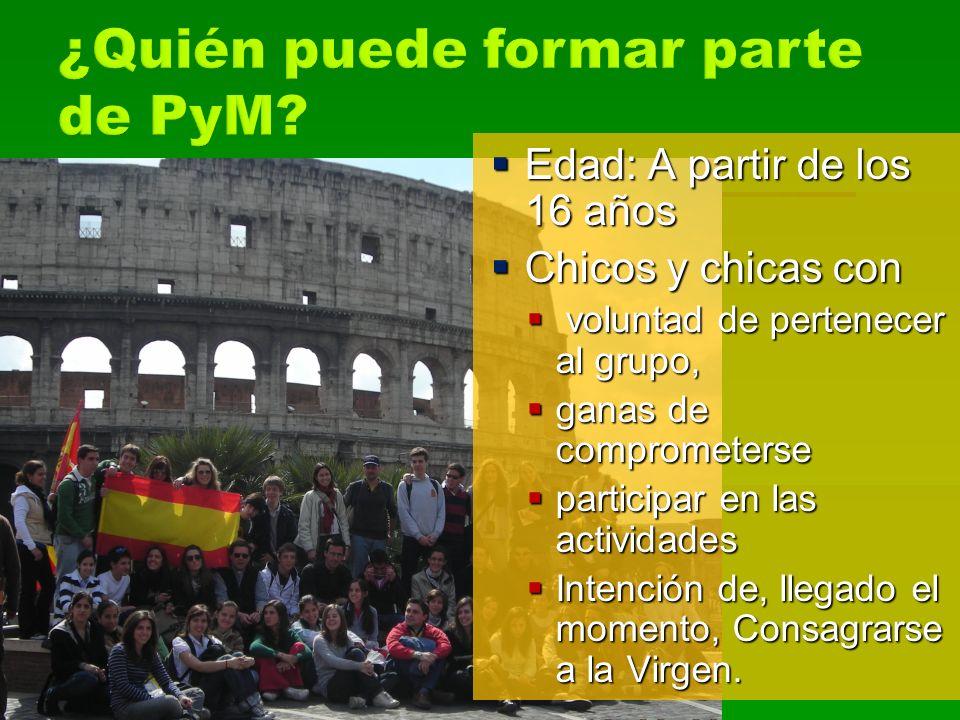 ¿Quién puede formar parte de PyM