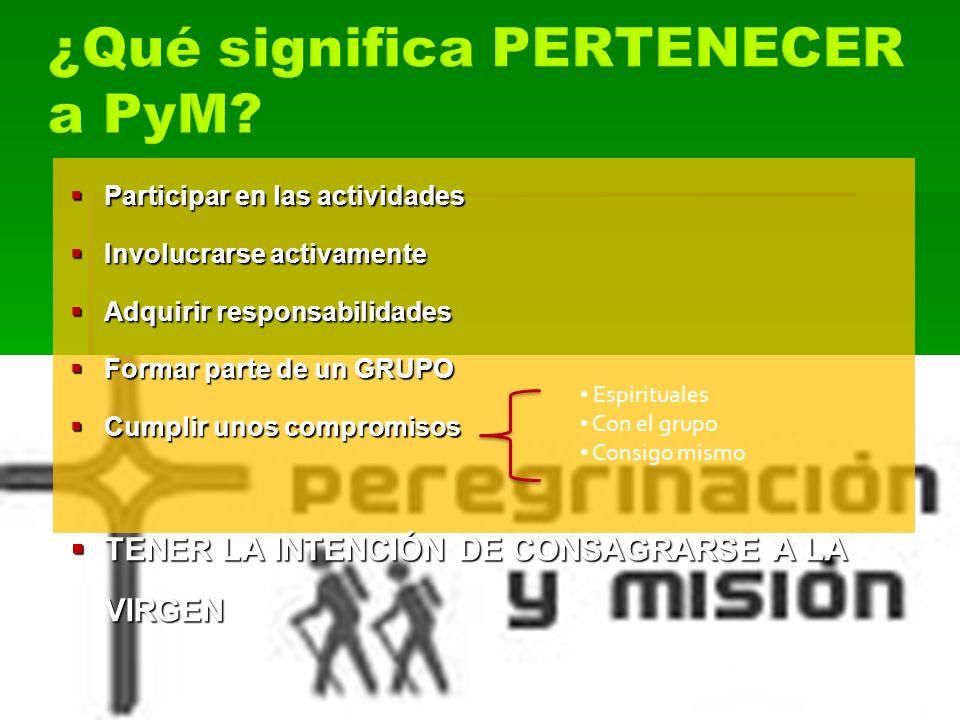 ¿Qué significa PERTENECER a PyM