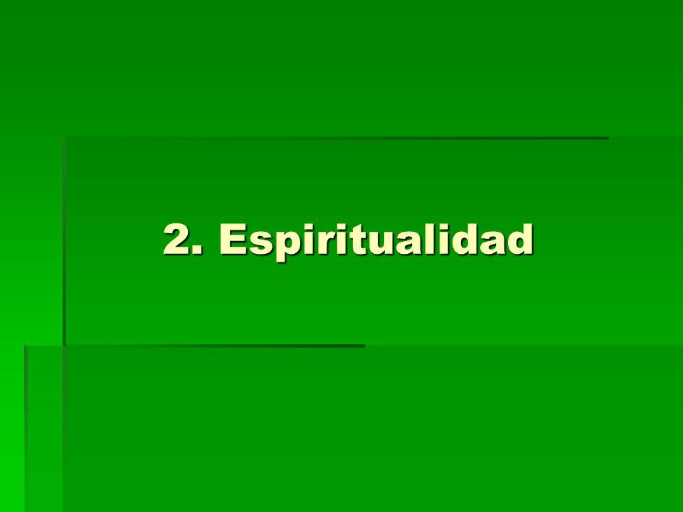 2. Espiritualidad