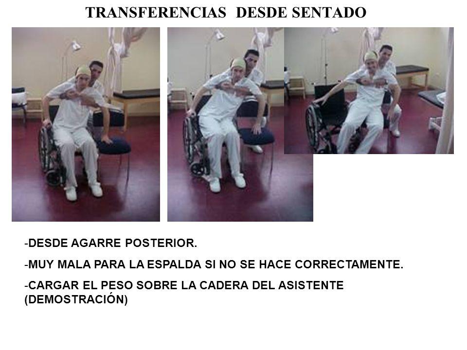 TRANSFERENCIAS DESDE SENTADO