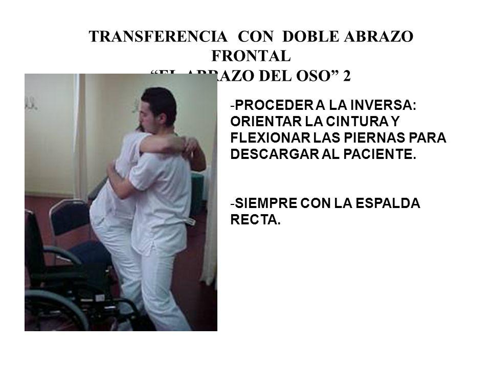 TRANSFERENCIA CON DOBLE ABRAZO FRONTAL EL ABRAZO DEL OSO 2