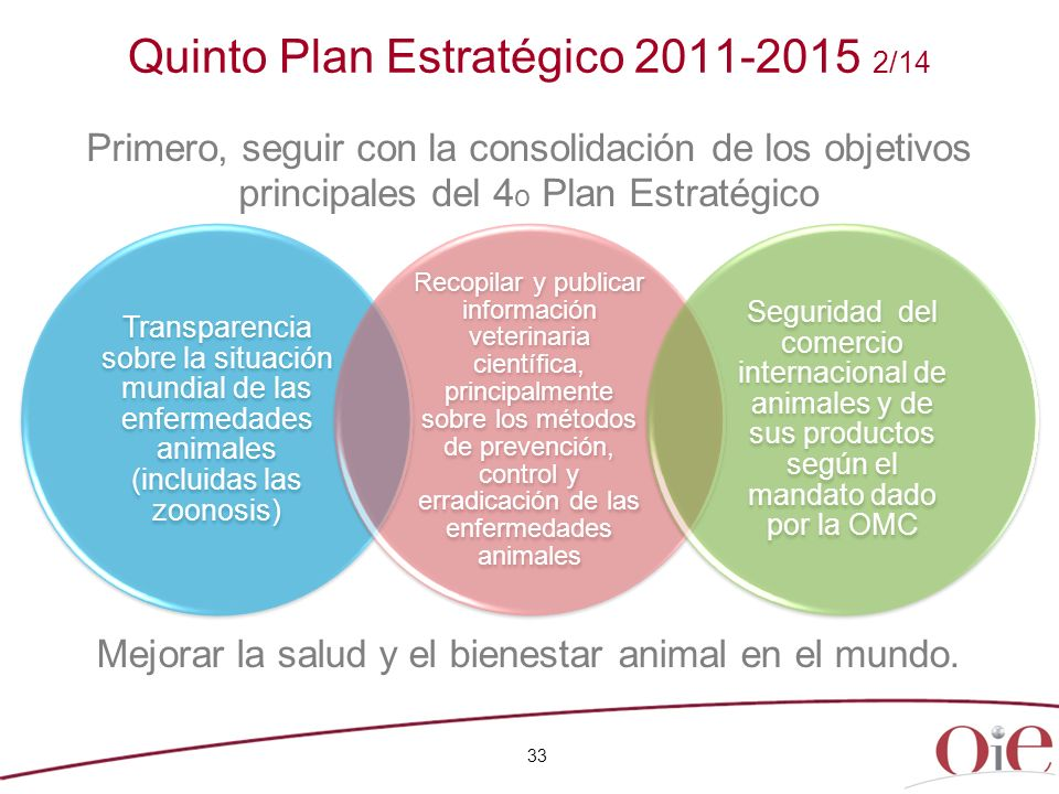 Quinto Plan Estratégico 2011-2015 2/14