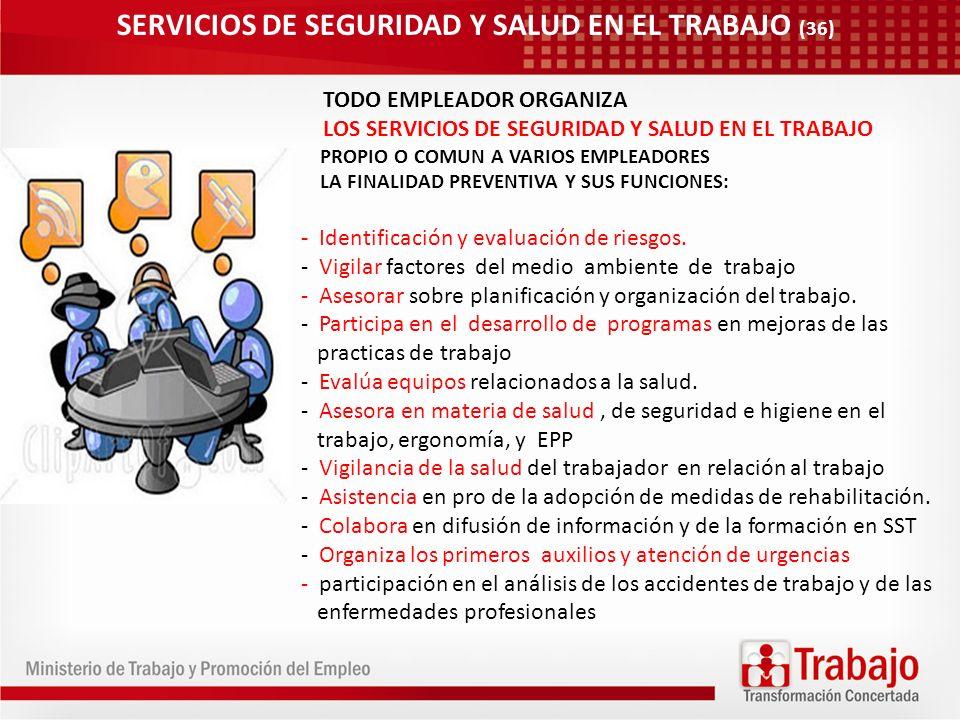 SERVICIOS DE SEGURIDAD Y SALUD EN EL TRABAJO (36)