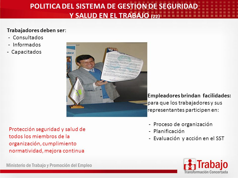POLITICA DEL SISTEMA DE GESTION DE SEGURIDAD